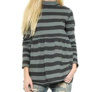We the Free Mod About It Mock Neck Tunic Top